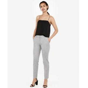 Express Columnist Gray Mid-Rise Skinny Pants